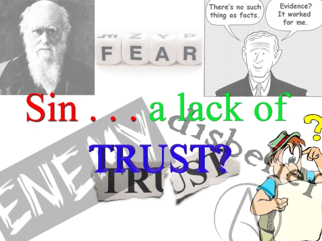 sin and trust
